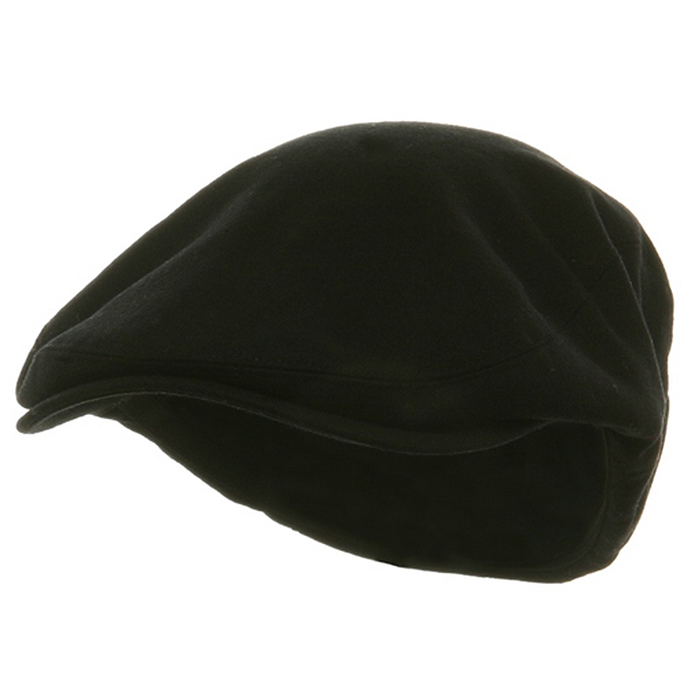 Big Size Elastic Wool Ivy Cap - Black - Hats and Caps Online Shop - Hip Head Gear