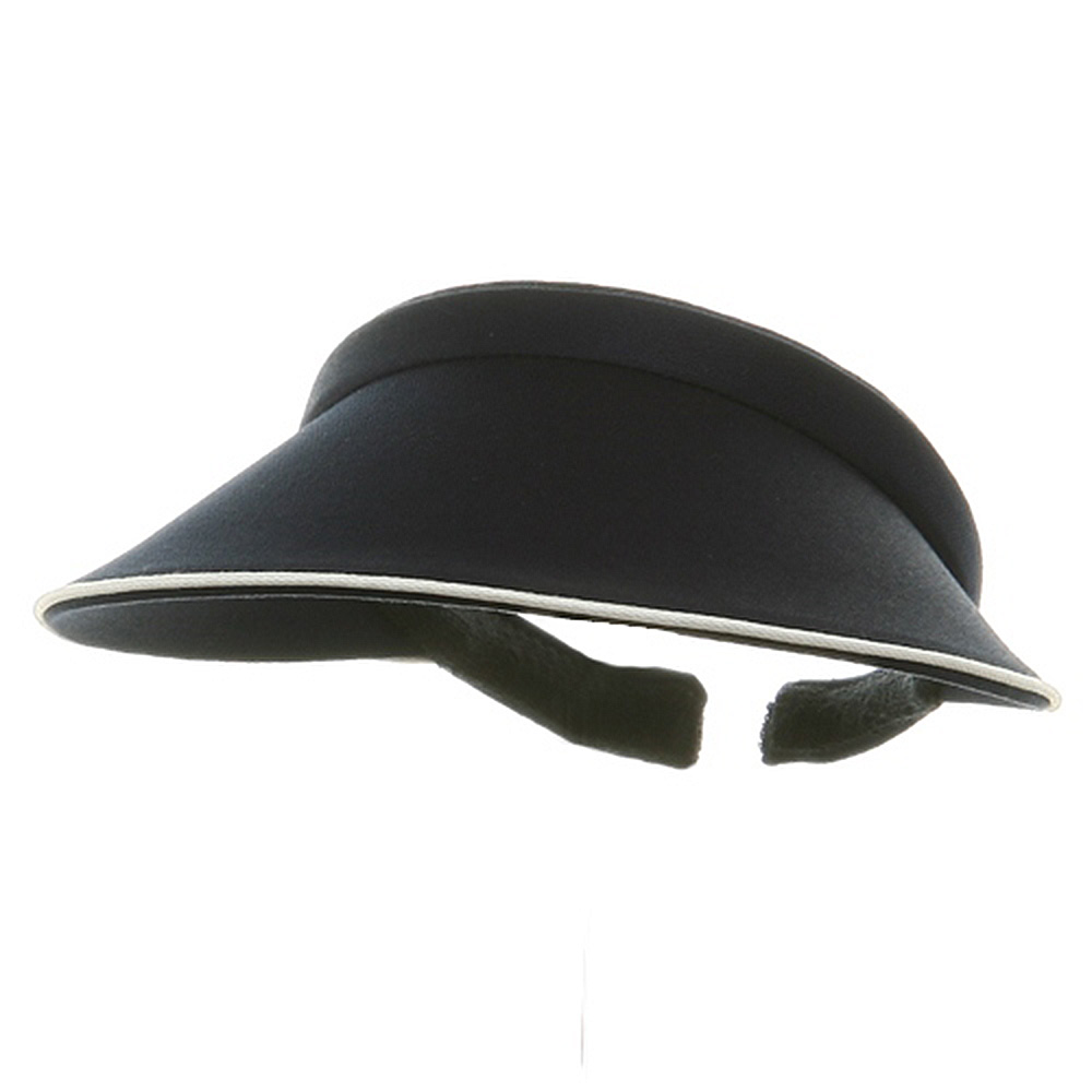 Piping Clip On Visor-Navy - Hats and Caps Online Shop - Hip Head Gear