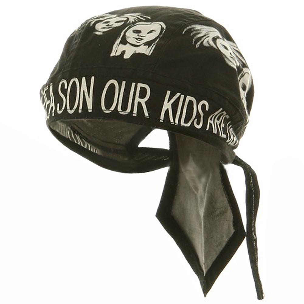 Novelty Series Headwraps-Ugly Kids - Hats and Caps Online Shop - Hip Head Gear