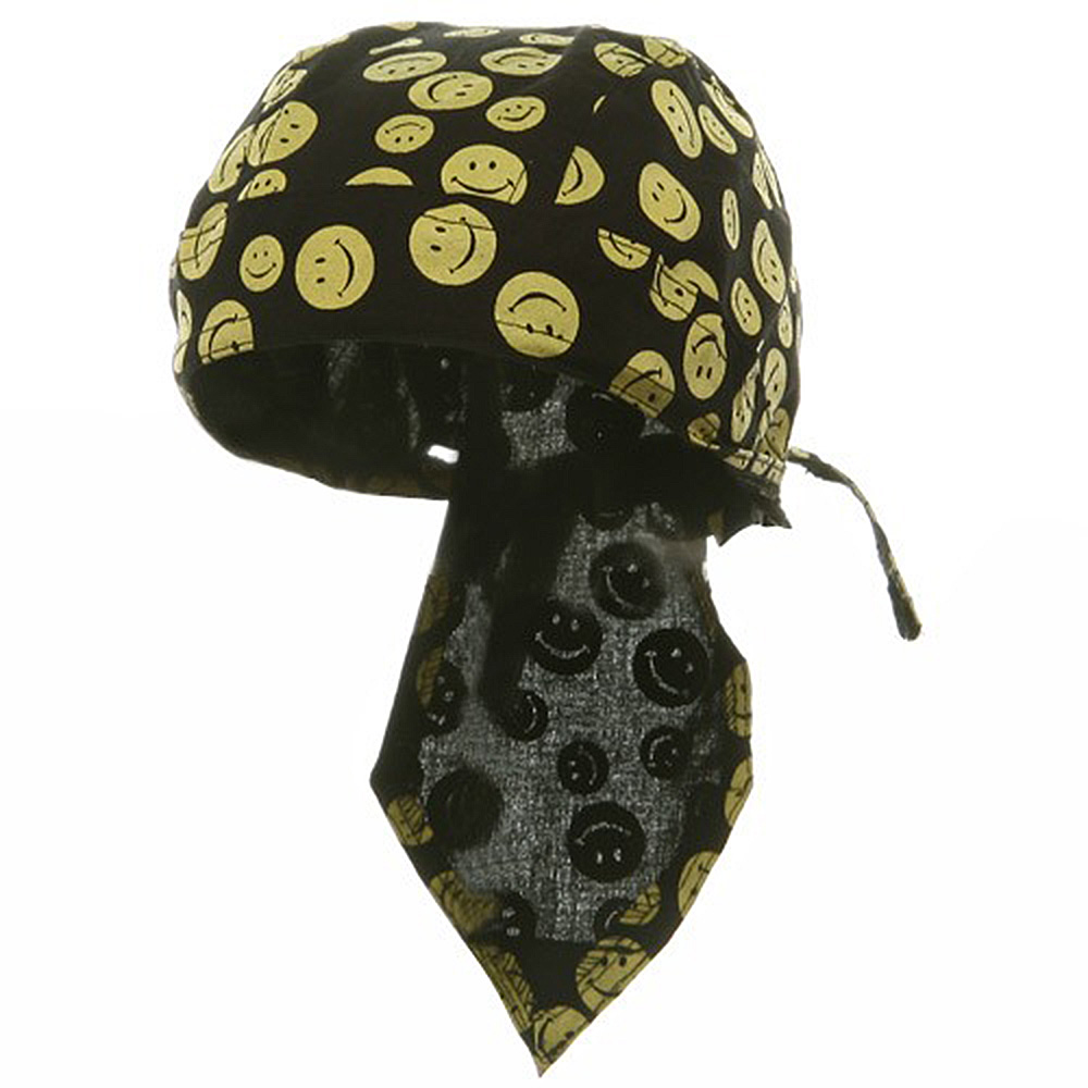 Novelty Series Headwrap-Smiley Face - Hats and Caps Online Shop - Hip Head Gear