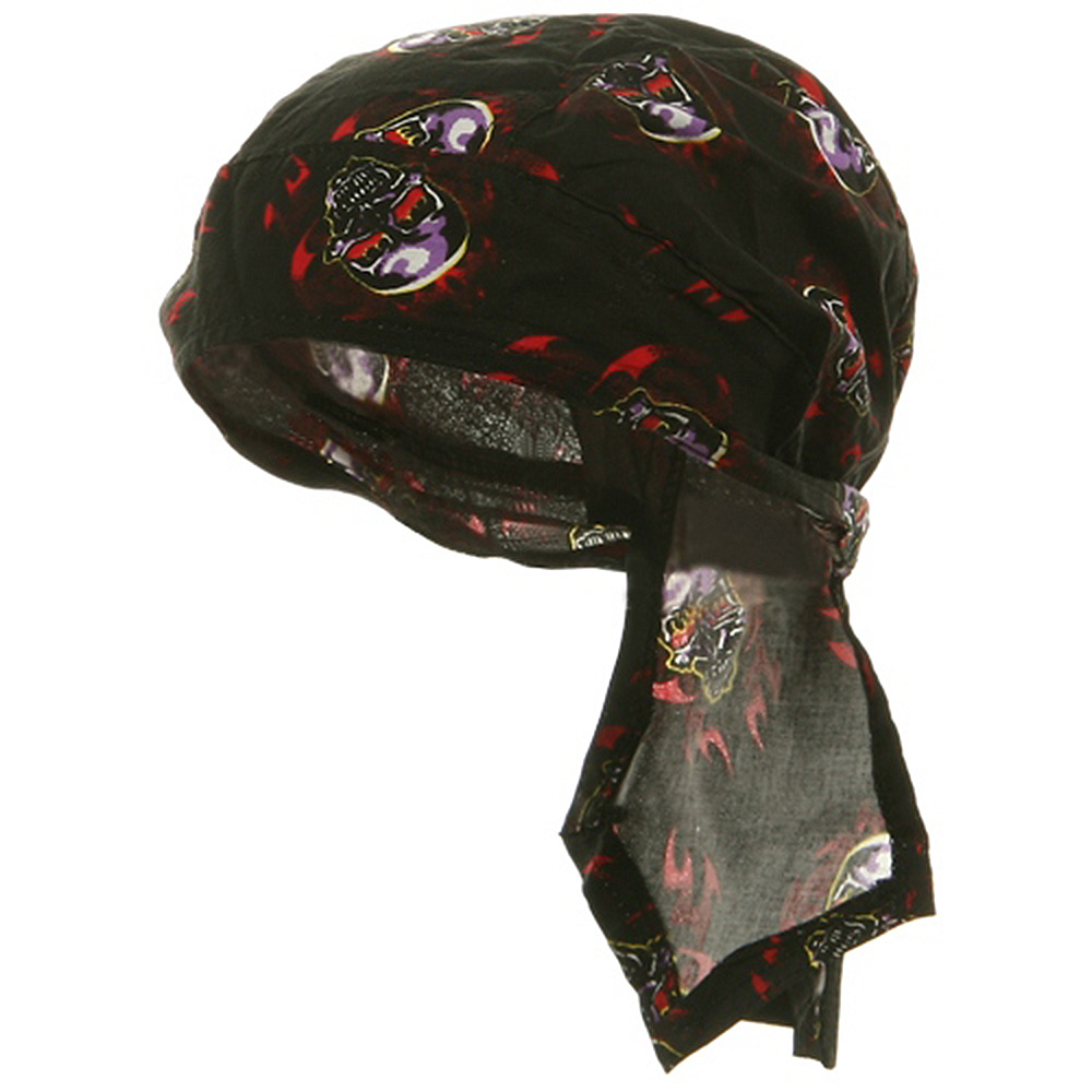 Road Hog Series Headwraps-Tribal Skulls - Hats and Caps Online Shop - Hip Head Gear