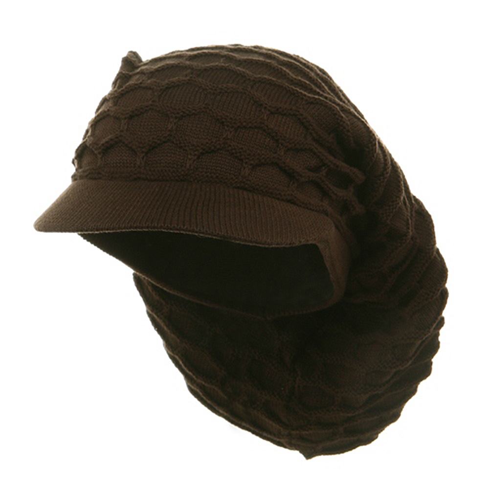 New Rasta Honey Long Hat-Brown - Hats and Caps Online Shop - Hip Head Gear