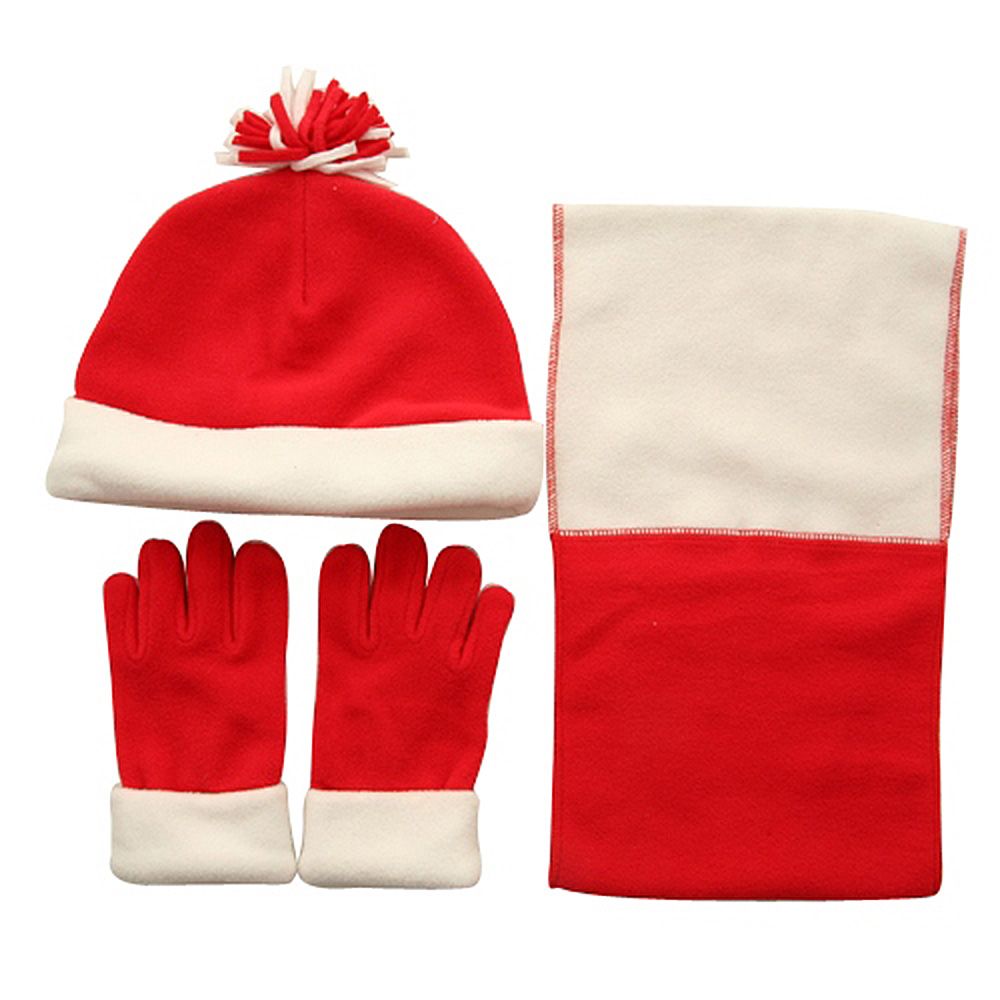 Child Beanie Glove and Scarf Set - Red - Hats and Caps Online Shop - Hip Head Gear