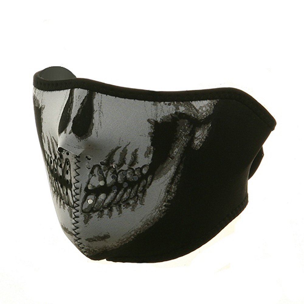 Neoprene Half Face Mask - Skull - Hats and Caps Online Shop - Hip Head Gear
