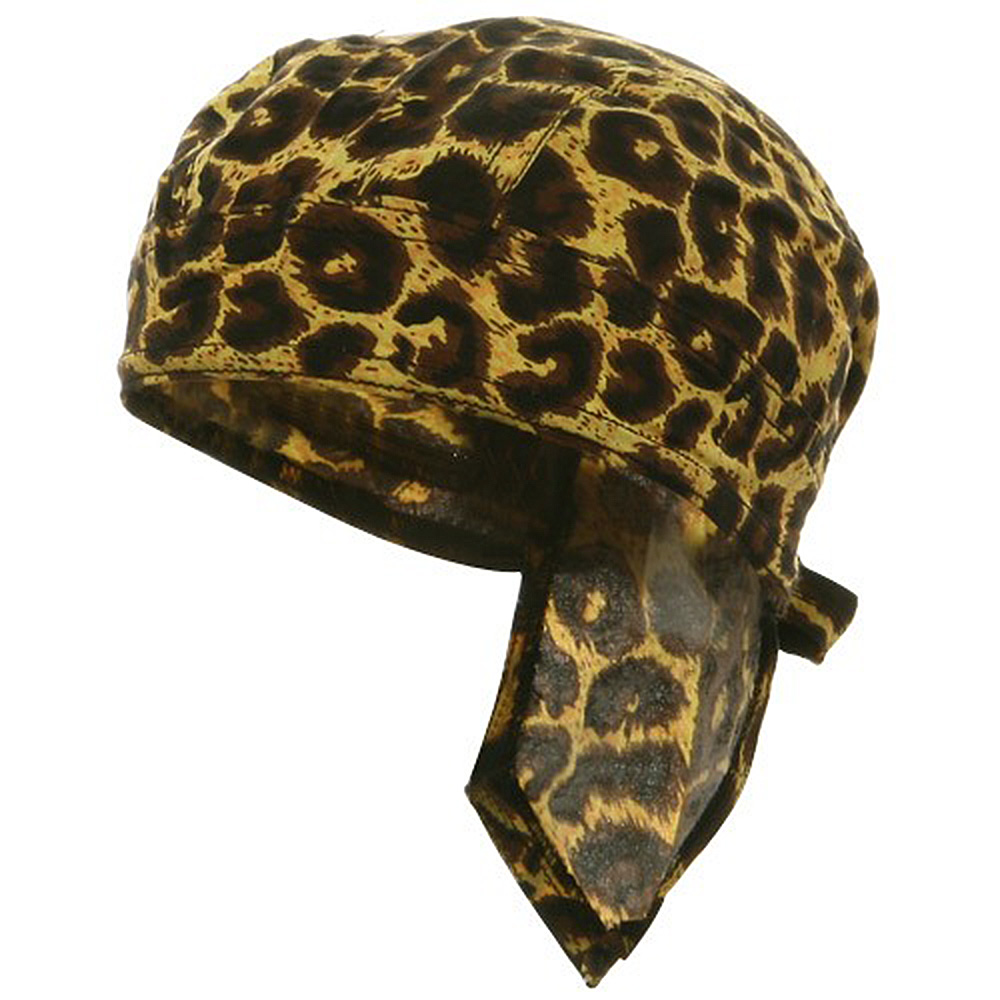 Wild Series Head Wrap  / leopard - Hats and Caps Online Shop - Hip Head Gear