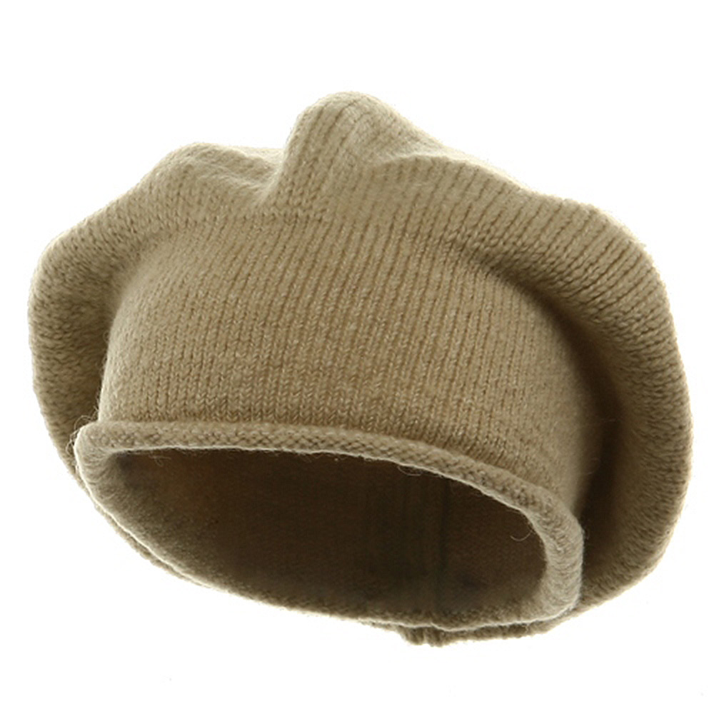 New Rasta Beanie Hat - Khaki - Hats and Caps Online Shop - Hip Head Gear