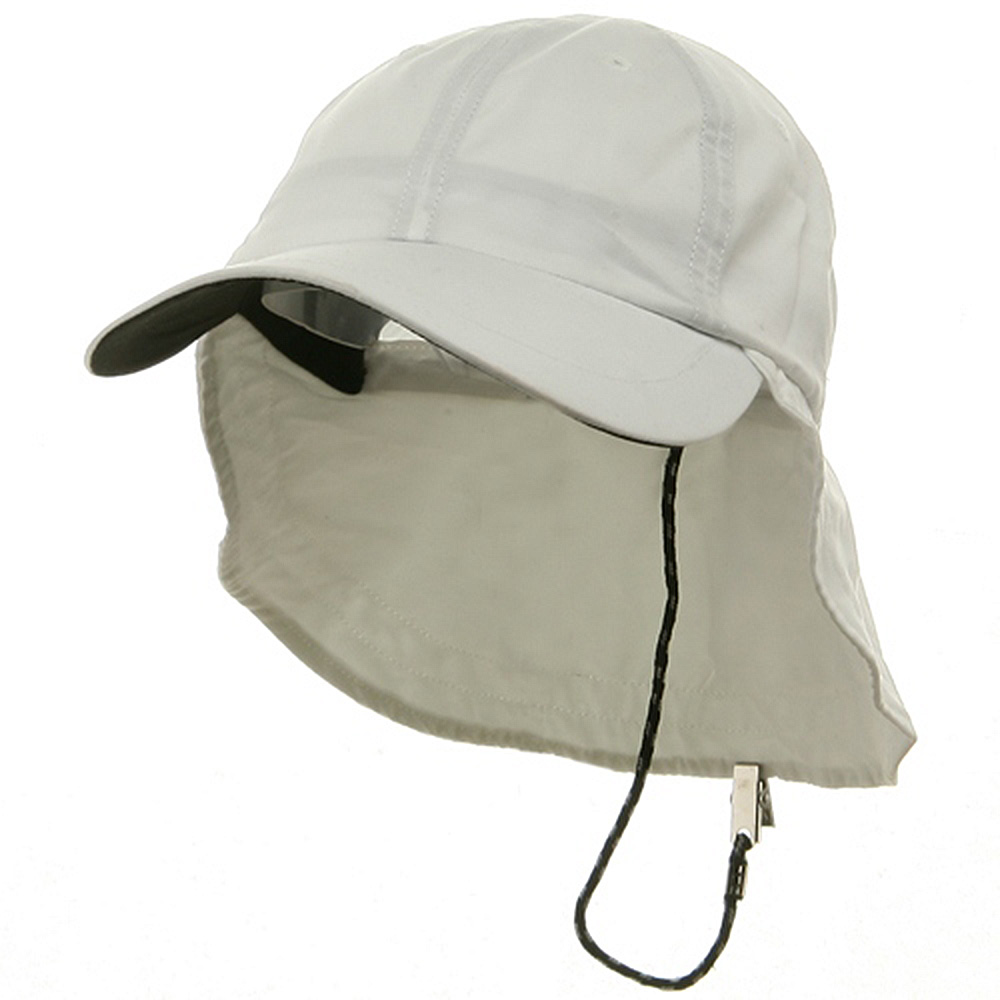 Polyester Flap Hats-White - Hats and Caps Online Shop - Hip Head Gear