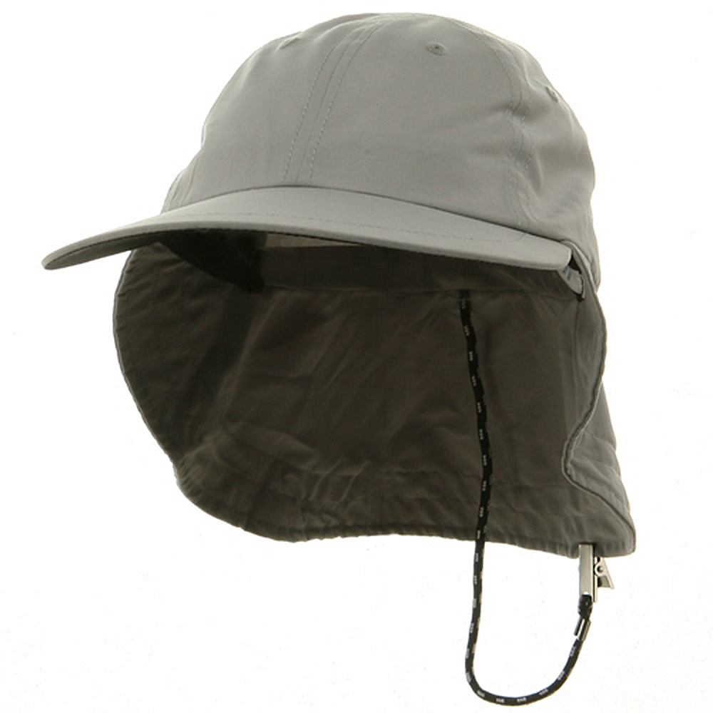 Polyester Flap Hat-Grey - Hats and Caps Online Shop - Hip Head Gear
