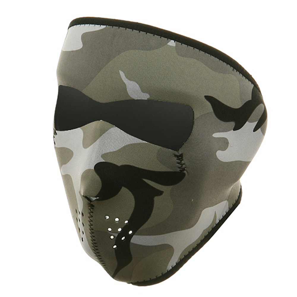 Neoprene Full Face Mask - Urban Camouflage - Hats and Caps Online Shop - Hip Head Gear