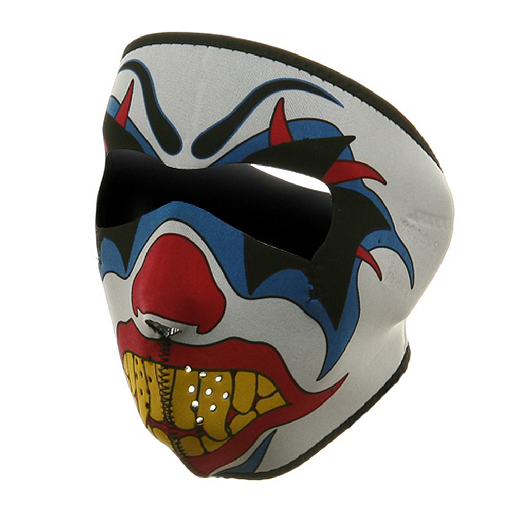 Neoprene Full Face Mask - Clown - Hats and Caps Online Shop - Hip Head Gear