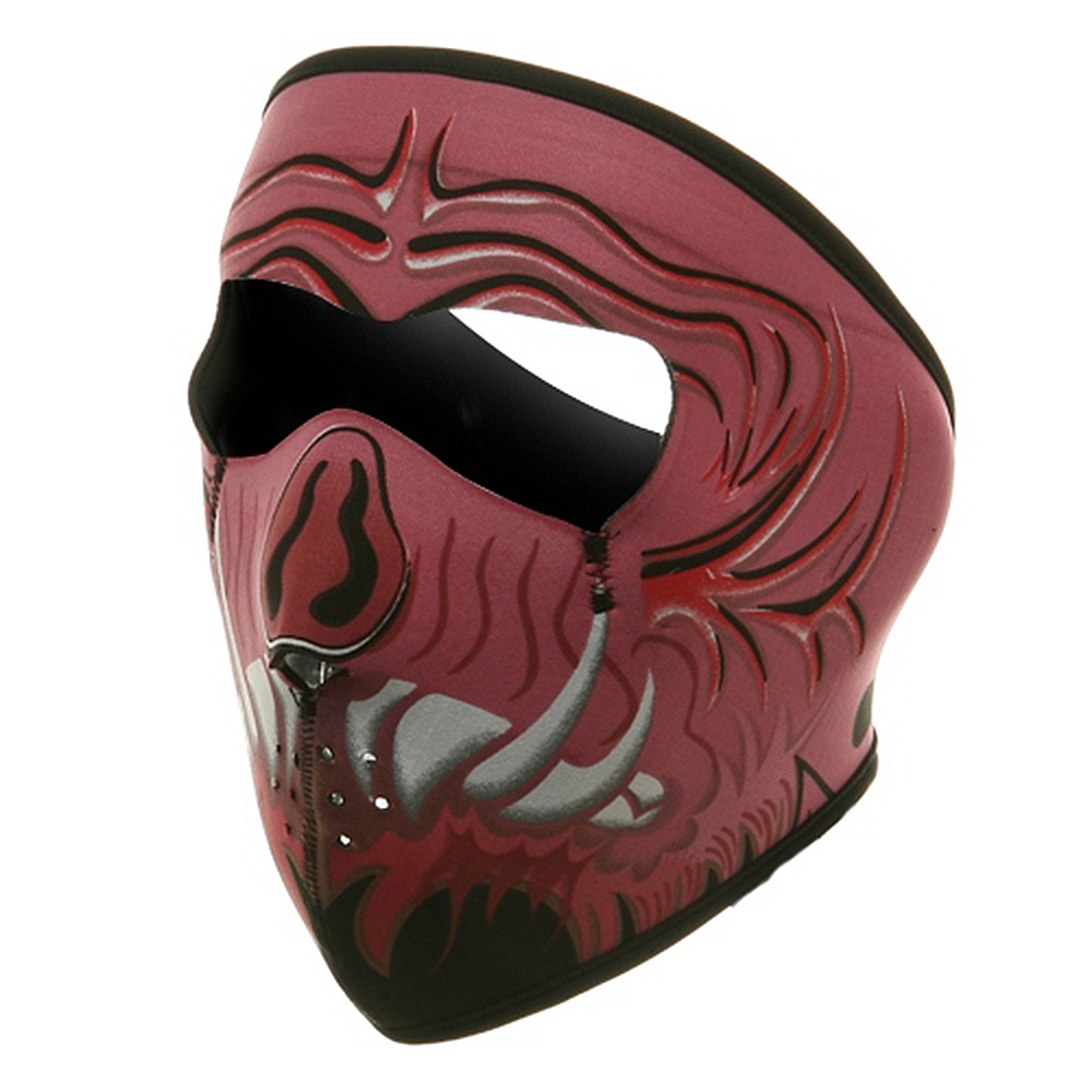 Neoprene Full Face Mask - Big Pig Face - Hats and Caps Online Shop - Hip Head Gear