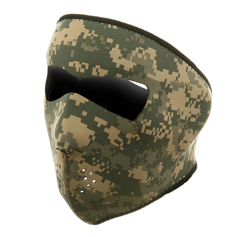Neoprene Full Face Mask - Digital ACU - Hats and Caps Online Shop - Hip Head Gear
