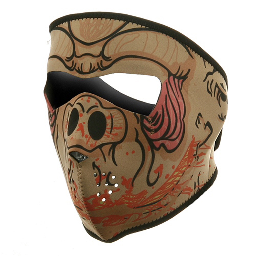 Neoprene Full Face Mask - Hog - Hats and Caps Online Shop - Hip Head Gear