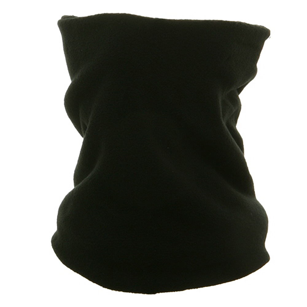 Micro Fleece Neck Warmer-Black - Hats and Caps Online Shop - Hip Head Gear