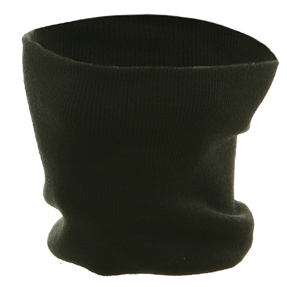 Neck Warmer - Knit Black - Hats and Caps Online Shop - Hip Head Gear