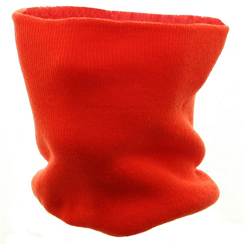 Neck Warmer - Knit Orange - Hats and Caps Online Shop - Hip Head Gear