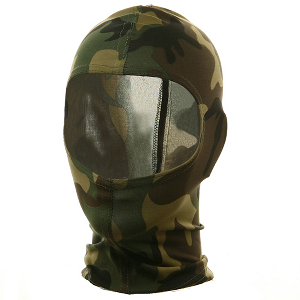 Nylon Balaclava-Camouflage Woodland - Hats and Caps Online Shop - Hip Head Gear