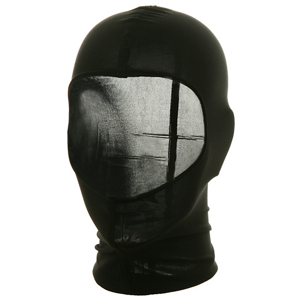Nylon Balaclava-Black Solid - Hats and Caps Online Shop - Hip Head Gear