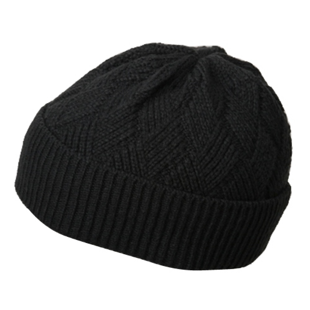 Acrylic Short Beanie-Dark Grey - Hats and Caps Online Shop - Hip Head Gear