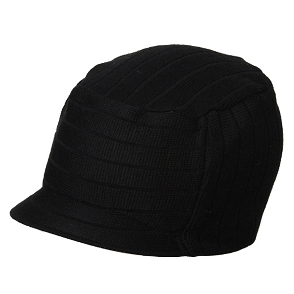 Disel Beanie Visor-Black - Hats and Caps Online Shop - Hip Head Gear