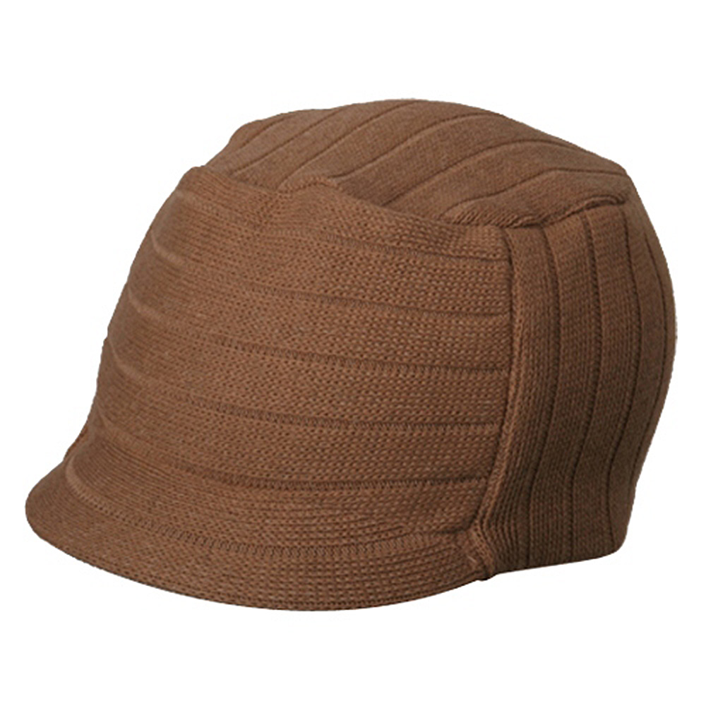 Disel Beanie Visor-Khaki - Hats and Caps Online Shop - Hip Head Gear