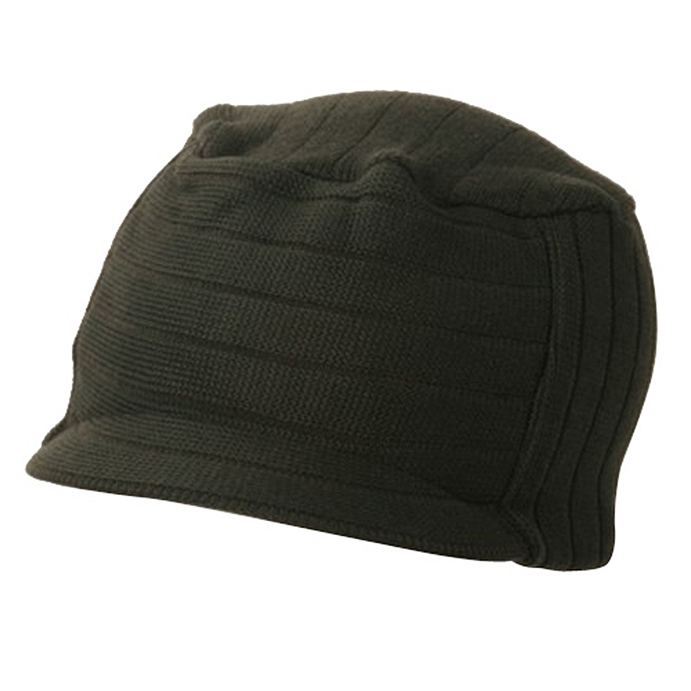 Disel Beanie Visor-Olive - Hats and Caps Online Shop - Hip Head Gear