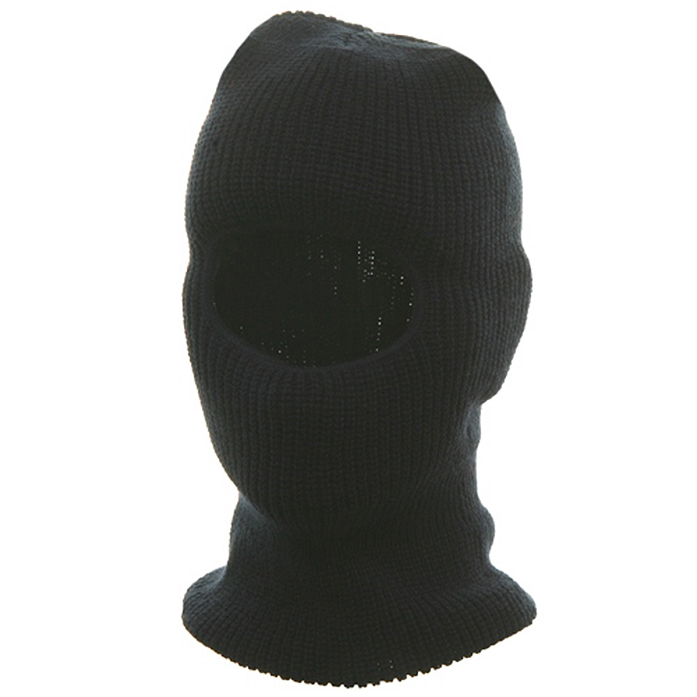 One Hole Face Mask - Navy - Hats and Caps Online Shop - Hip Head Gear