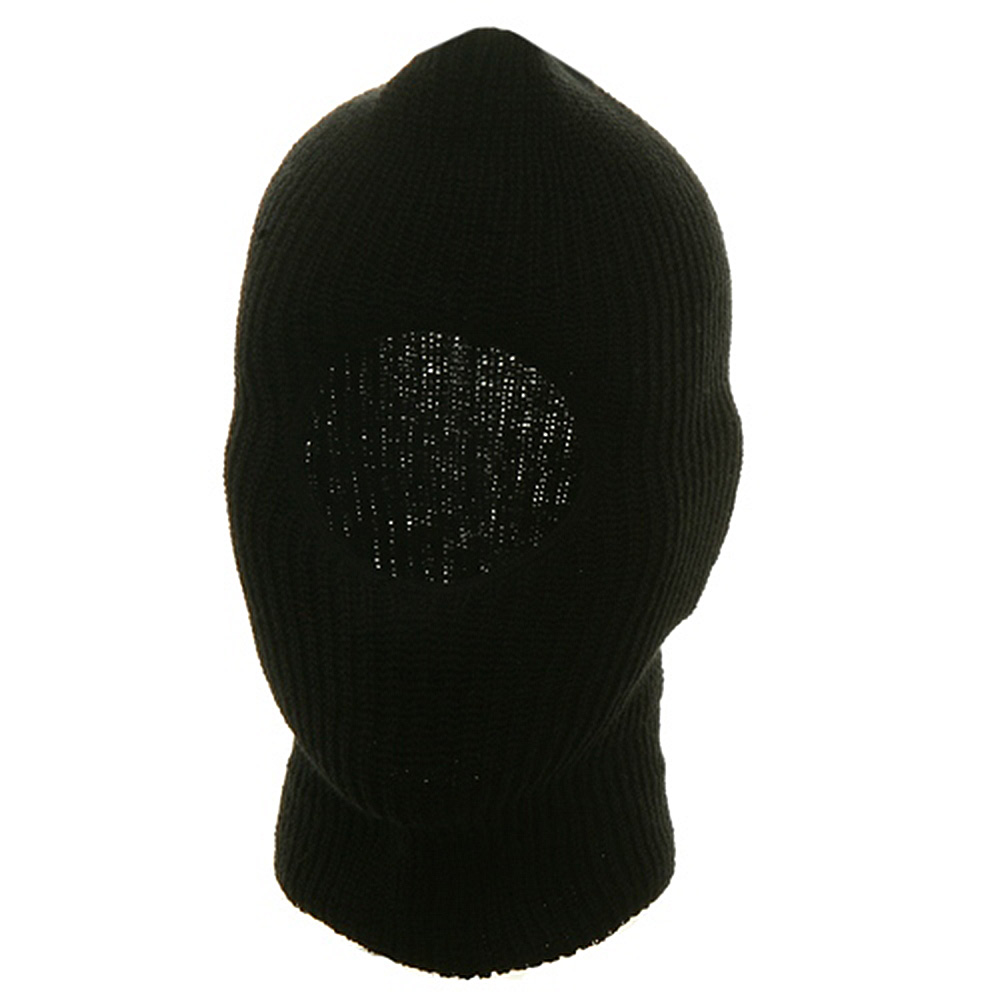 One Hole Face Mask - Black - Hats and Caps Online Shop - Hip Head Gear