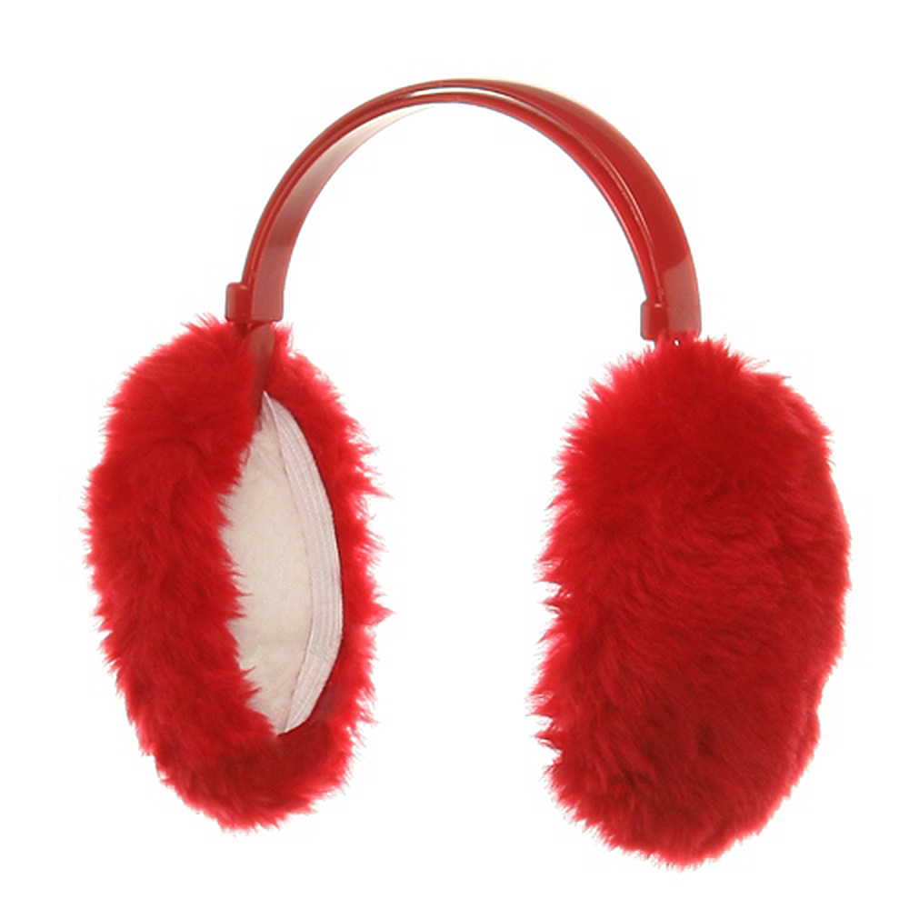 Ear Muffs - Red - Hats and Caps Online Shop - Hip Head Gear