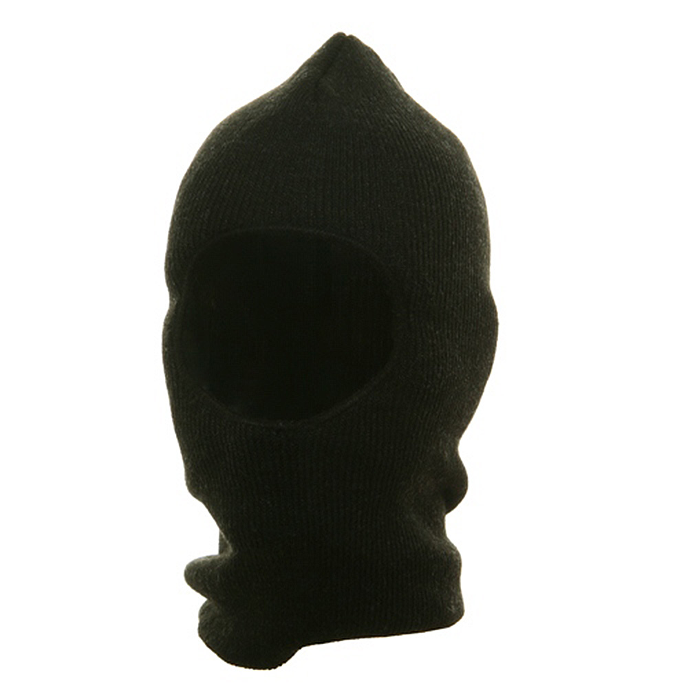 One Hole Thinsulate Face Mask - Black - Hats and Caps Online Shop - Hip Head Gear