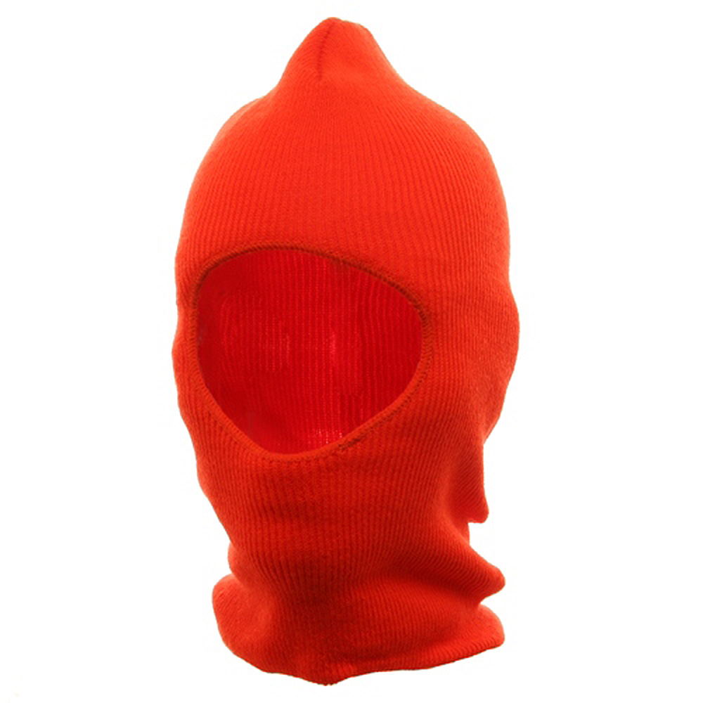 One Hole Thinsulate Face Mask - Blaze - Hats and Caps Online Shop - Hip Head Gear