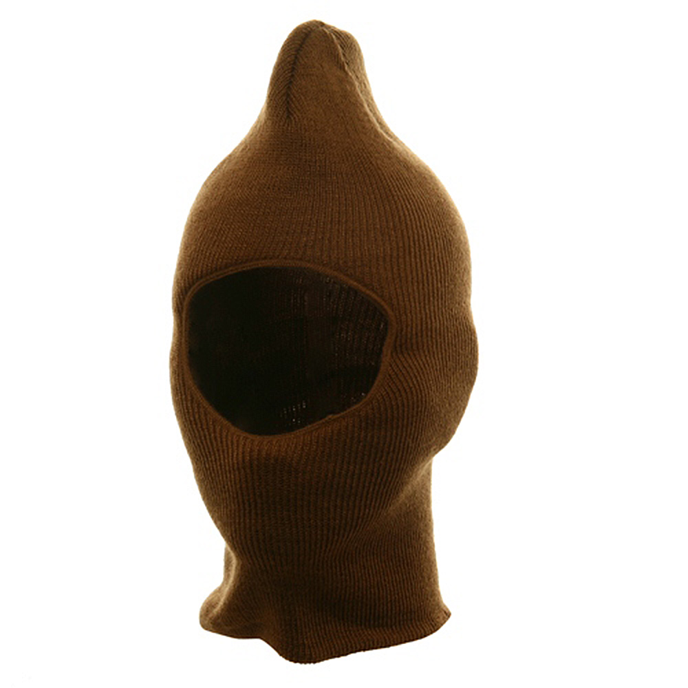 One Hole Thinsulate Face Mask - Copper - Hats and Caps Online Shop - Hip Head Gear