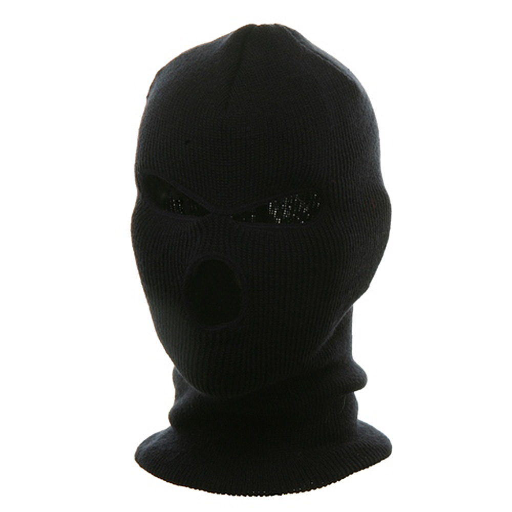 Three Hole Face Mask - Navy - Hats and Caps Online Shop - Hip Head Gear