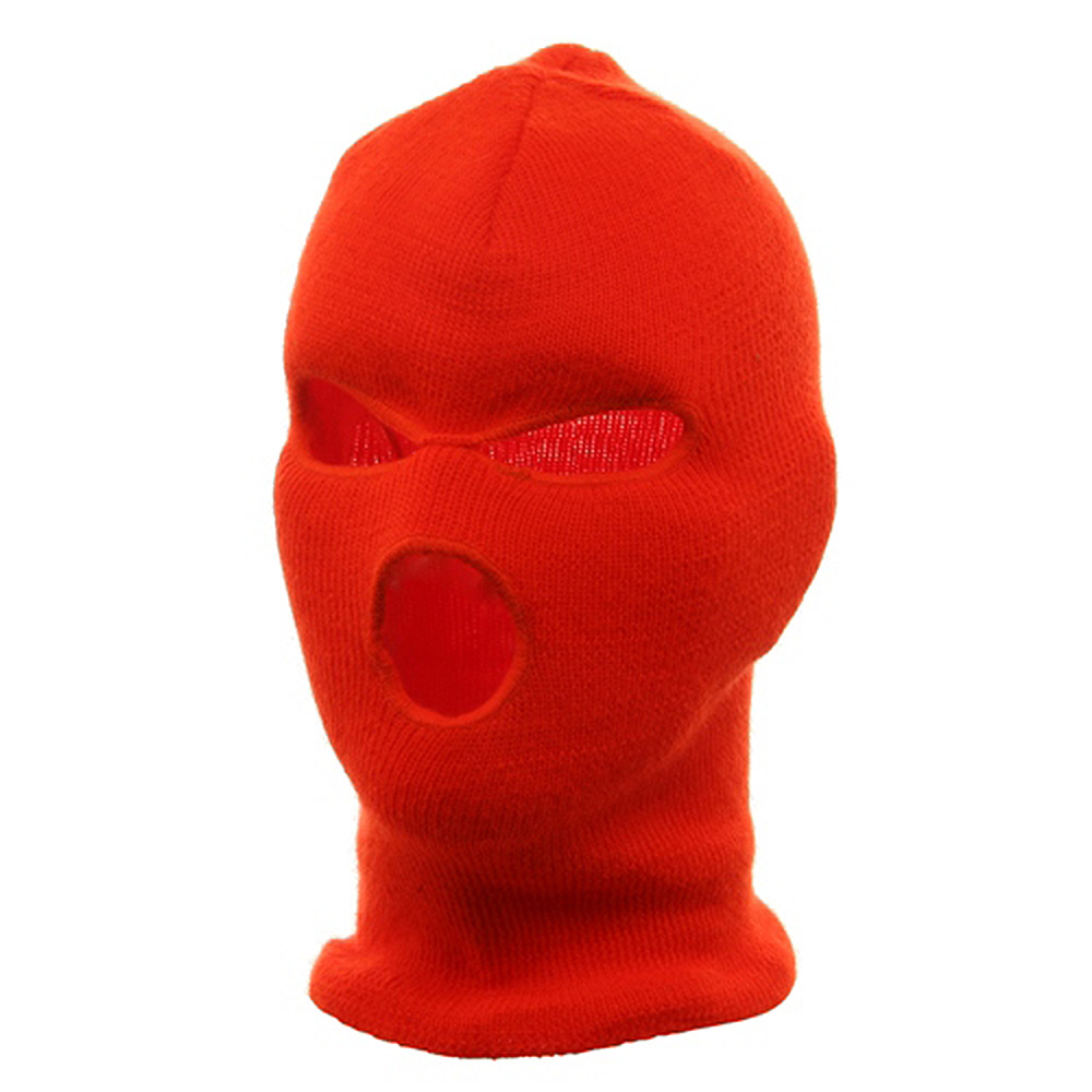 Three Hole Face Mask - Blaze - Hats and Caps Online Shop - Hip Head Gear