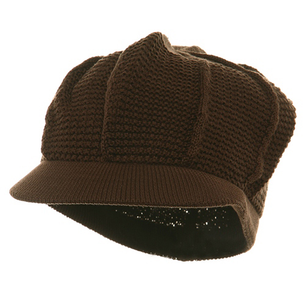 New Plain Cool Running Hat-Brown - Hats and Caps Online Shop - Hip Head Gear
