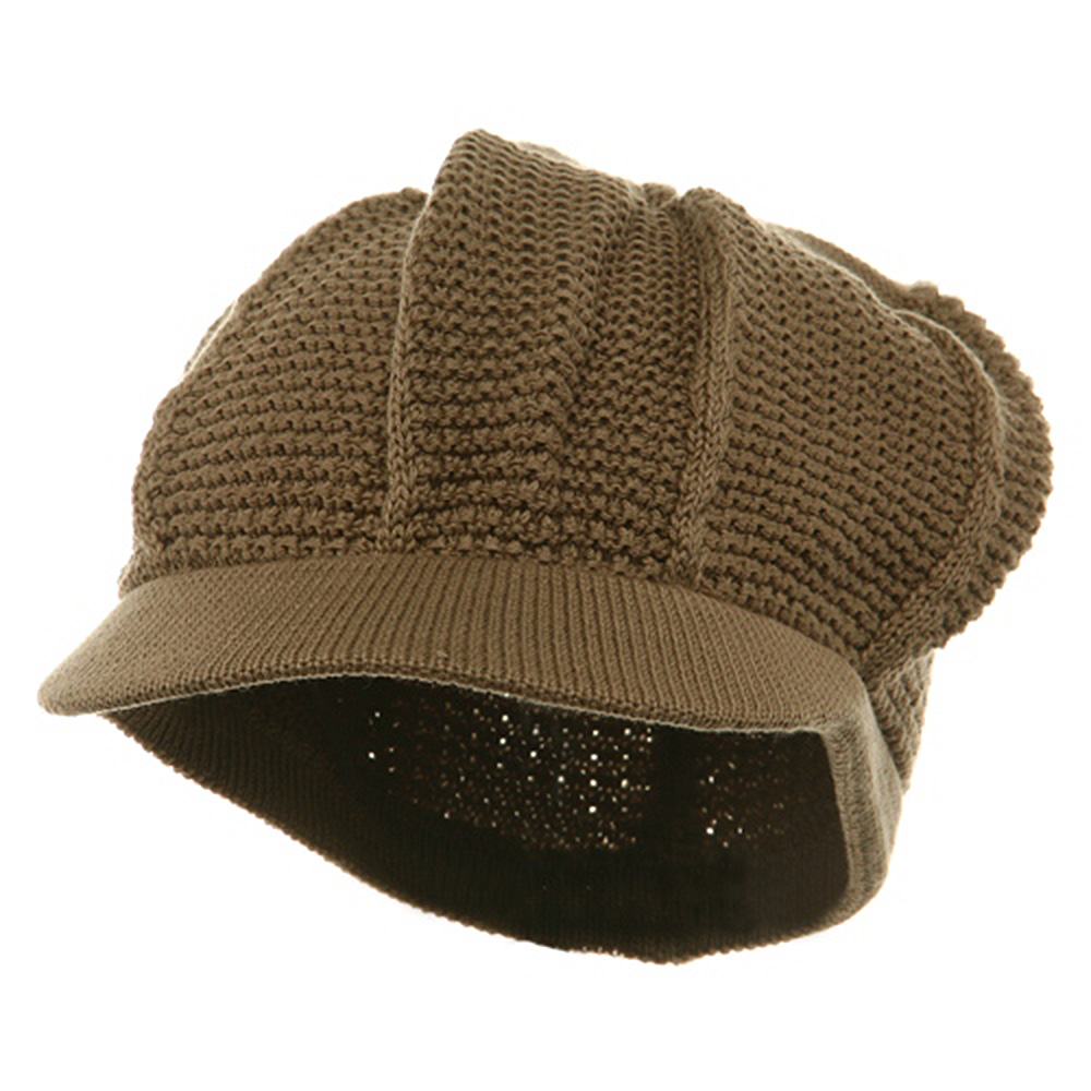New Plain Cool Running Hat-Khaki - Hats and Caps Online Shop - Hip Head Gear