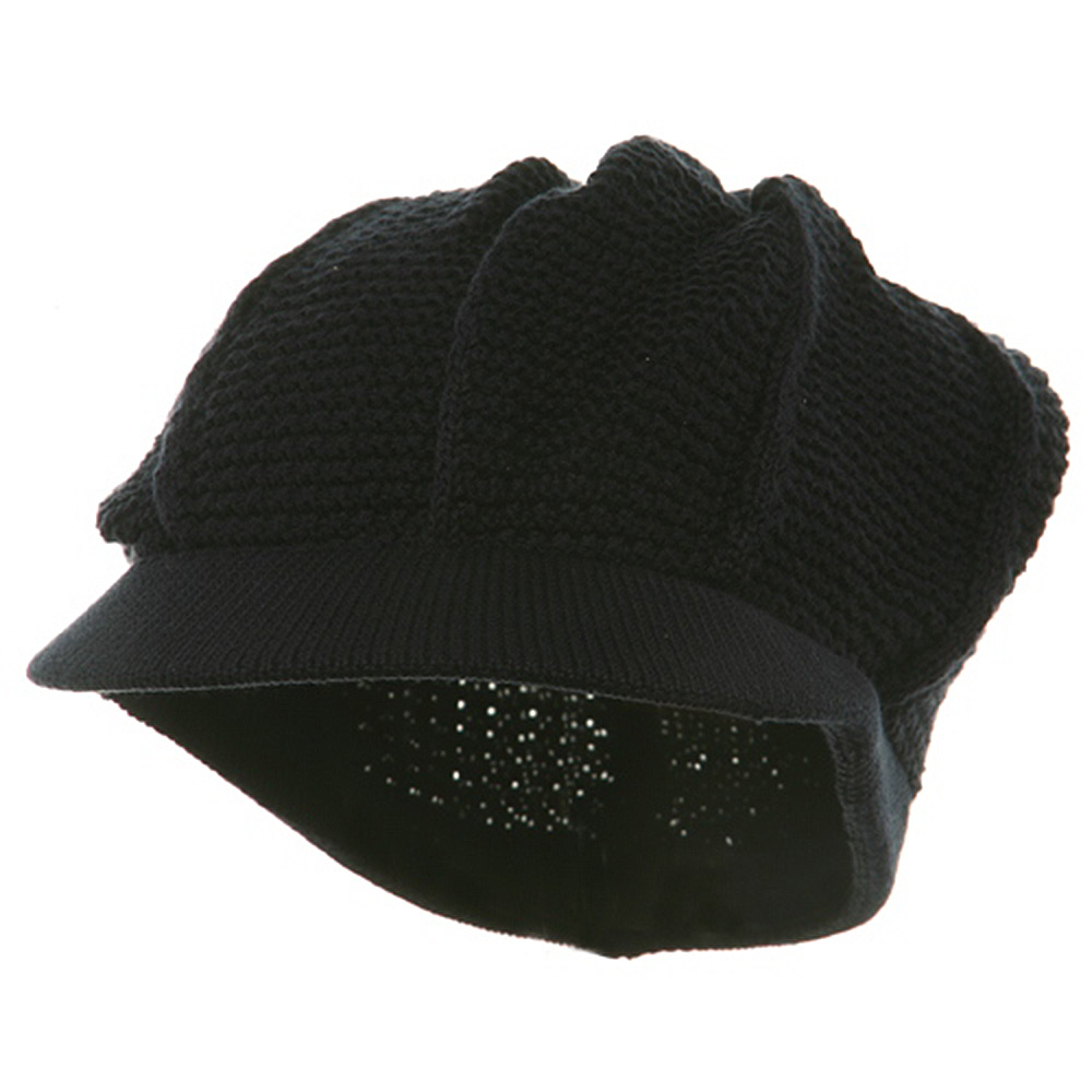 New Plain Cool Running Hat-Navy - Hats and Caps Online Shop - Hip Head Gear