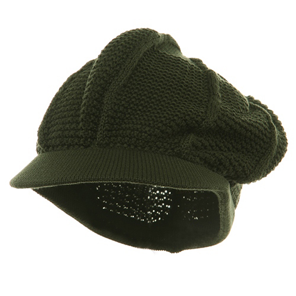New Plain Cool Running Hat-Olive - Hats and Caps Online Shop - Hip Head Gear