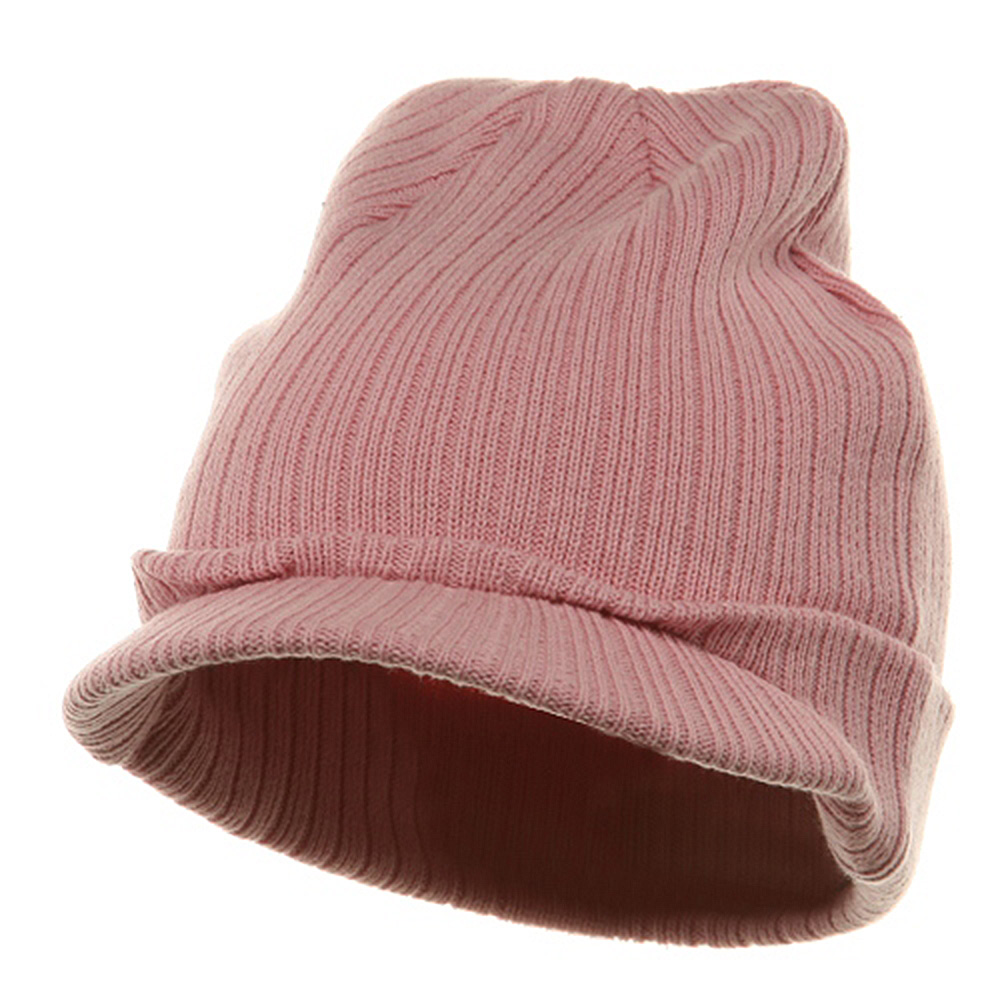 Knit with Visor - Pink - Hats and Caps Online Shop - Hip Head Gear