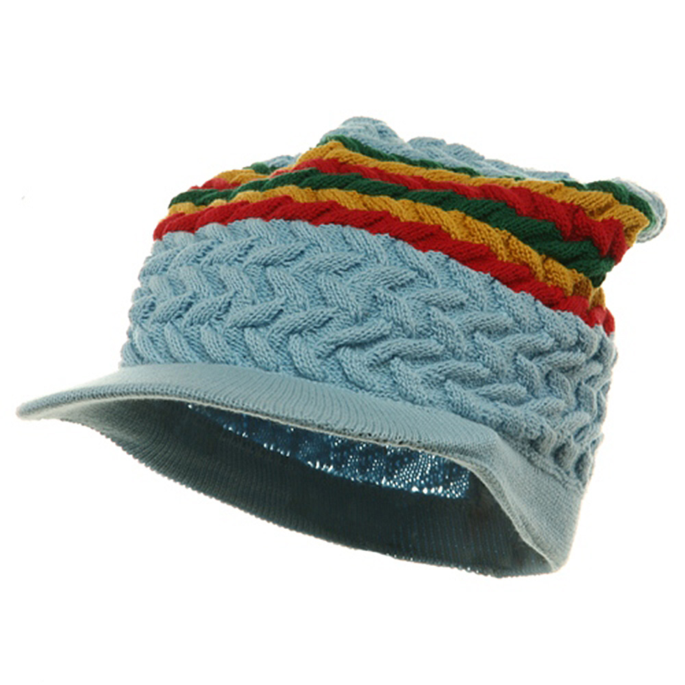 Wave Rasta Beanies Visors-R.G.Y - Hats and Caps Online Shop - Hip Head Gear