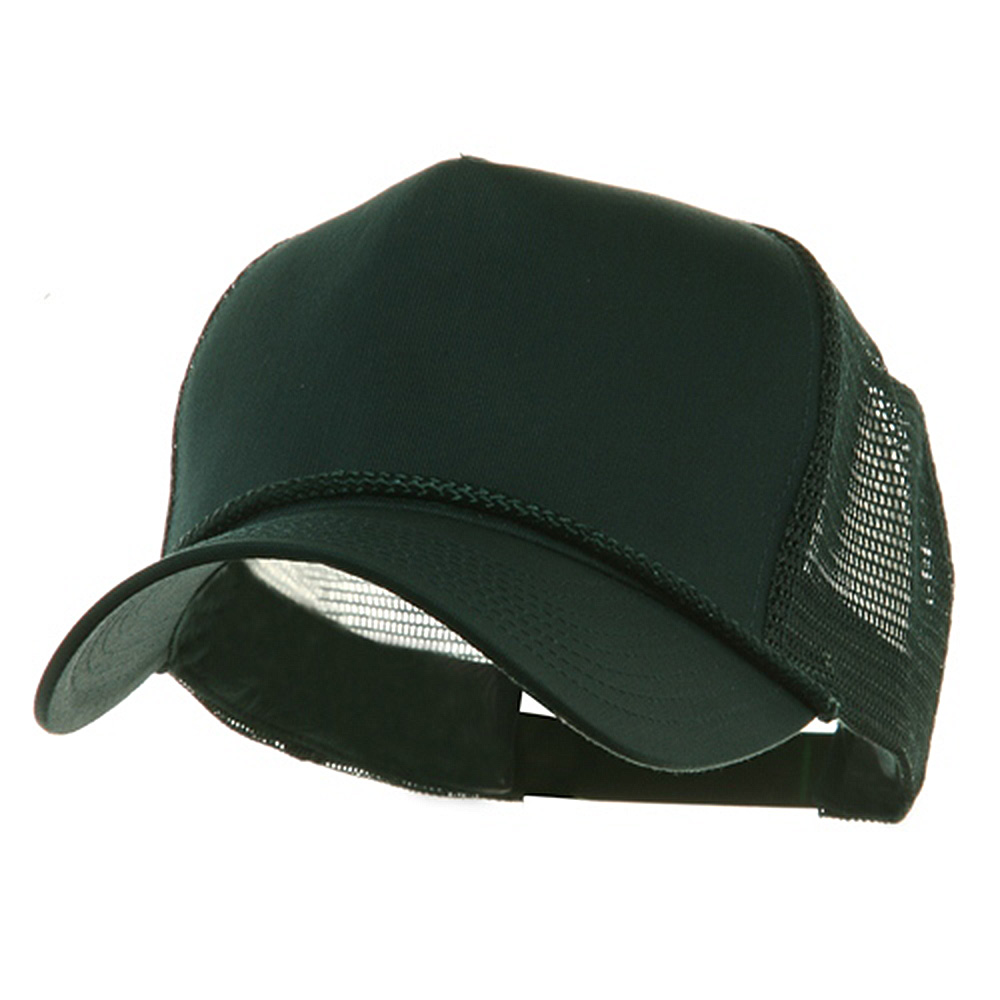 5 Panel Pro Style Twill Mesh Cap - Dark Green - Hats and Caps Online Shop - Hip Head Gear