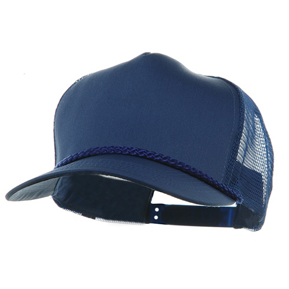 5 Panel Pro Style Twill Mesh Cap - Royal - Hats and Caps Online Shop - Hip Head Gear