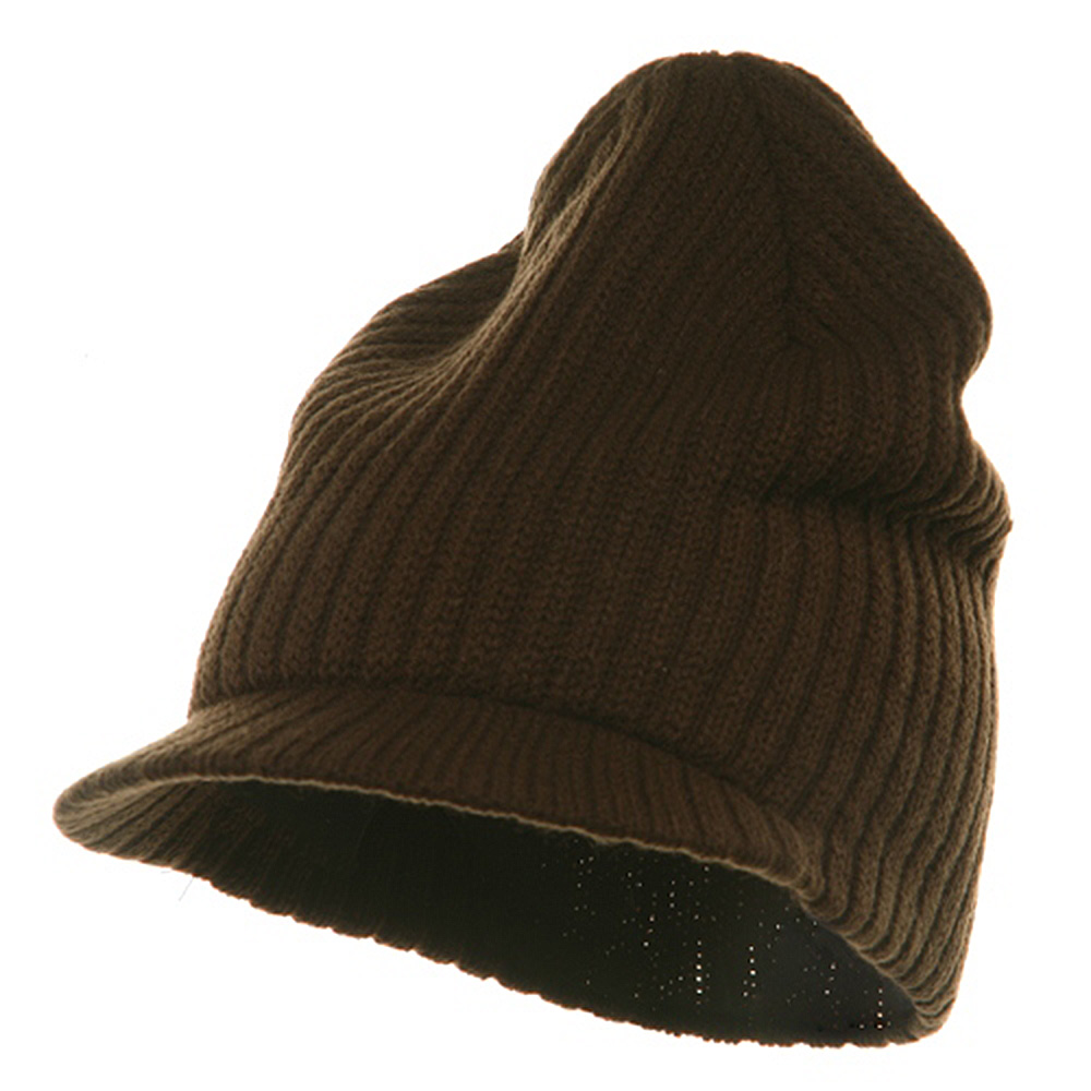 Striped Campus Jeep Cap - Brown - Hats and Caps Online Shop - Hip Head Gear