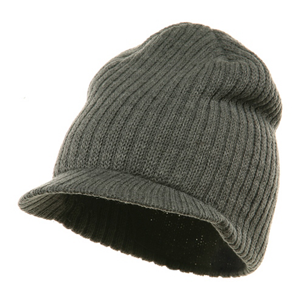 Striped Campus Jeep Cap - Grey - Hats and Caps Online Shop - Hip Head Gear