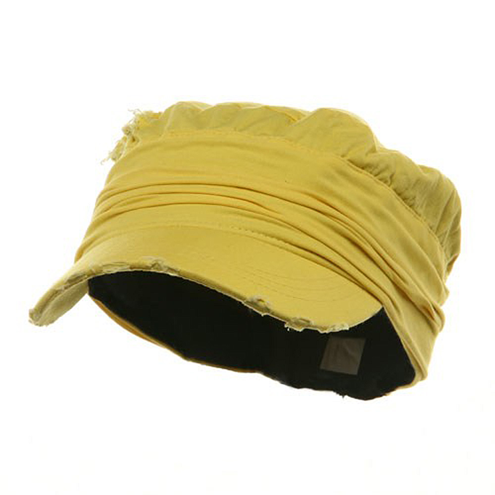 Vintage Army Cap-Yellow - Hats and Caps Online Shop - Hip Head Gear