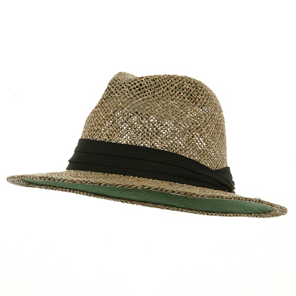 Big Safari Straw Hat - Black Band - Hats and Caps Online Shop - Hip Head Gear