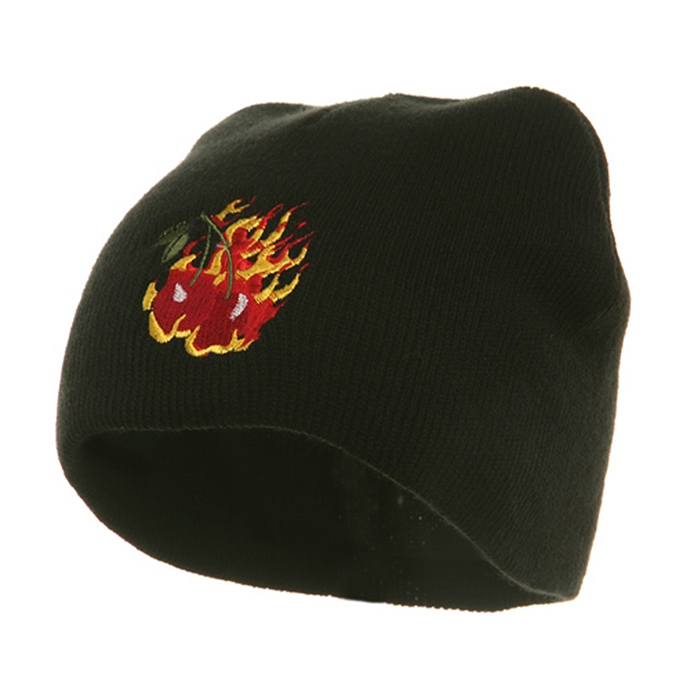 Biker Beanie-Cherry In Flame - Hats and Caps Online Shop - Hip Head Gear
