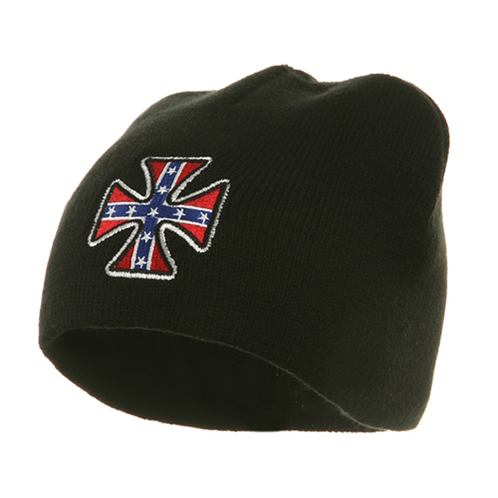 Biker Beanie-Confederate Chopper - Hats and Caps Online Shop - Hip Head Gear