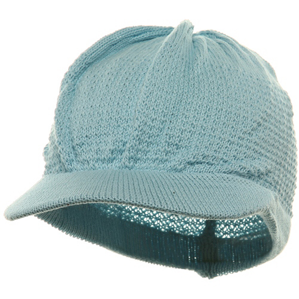 Cool Running Beanie Visor-Baby Blue - Hats and Caps Online Shop - Hip Head Gear