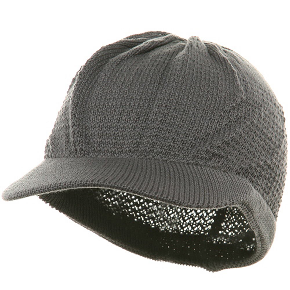 Cool Running Beanie Visor-Grey - Hats and Caps Online Shop - Hip Head Gear